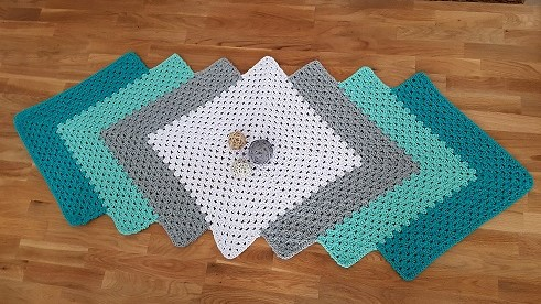 Granny Square Tischläufer Artinettes Diy Projekte